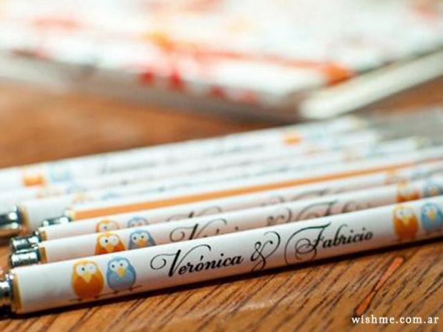 Wish - lapiceras personalizadas | Casamientos Online