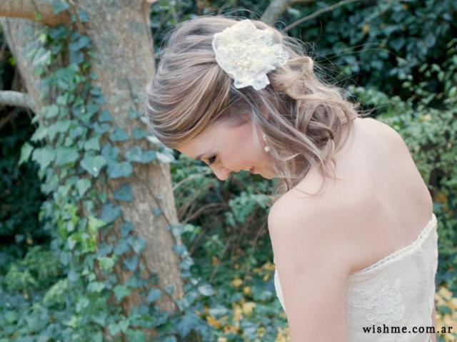 Wish - tocado de novia | Casamientos Online