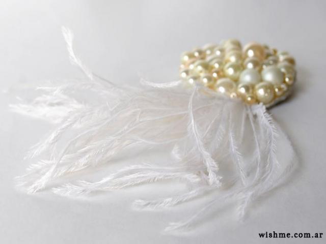 Wish - tocado de novia   Casamientos Online