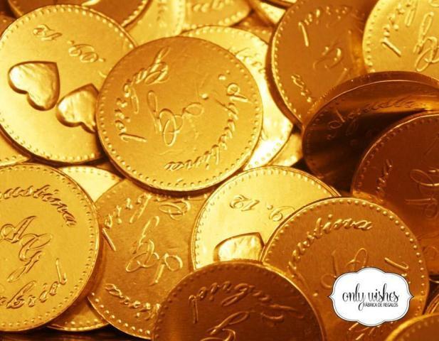 Monedas de Chocolate | Casamientos Online