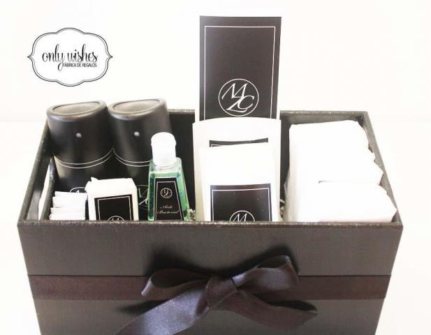 Kit Amenities Caballeros | Casamientos Online