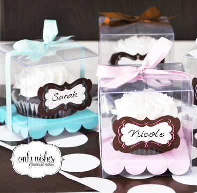 Caja Cupcake | Casamientos Online