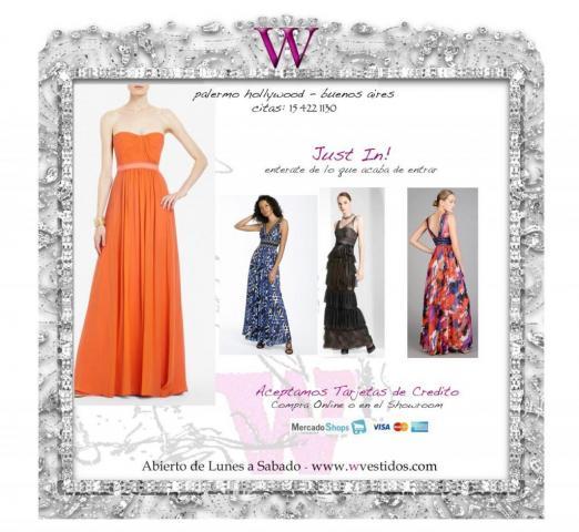 Showroom vestidos fiesta buenos aires