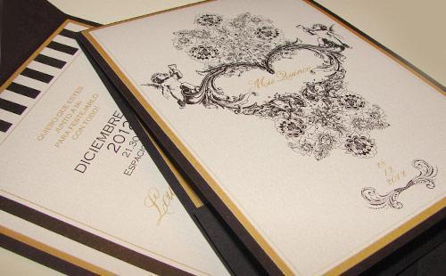 Tarjetas Romanticas y modernas | Casamientos Online