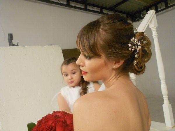 ana de casal, maquillaje y peinados | Casamientos Online