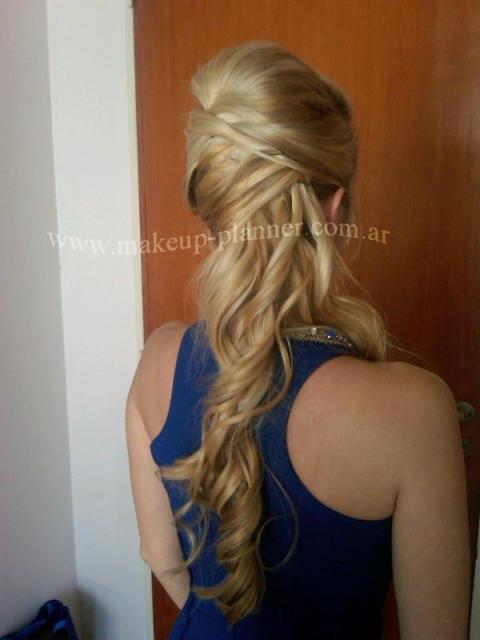 peinado de costado | Casamientos Online