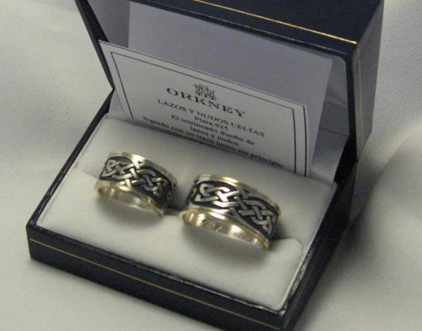 Alianzas de boda 11-037   Casamientos Online