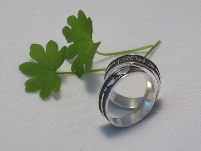 Alianzas de bodas CLADDAGH 11-017 en Plata.925   Casamientos Online