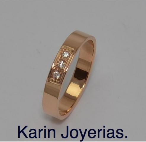 Exclusivas Cintas  Oro18klts/750 y Brillantes o Swarovski Zircoña a elección. www.karinjoyerias.com    Casamientos Online