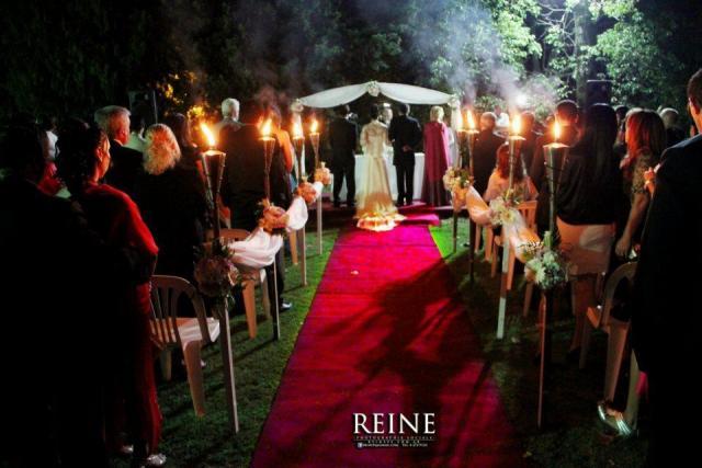 Altar noche | Casamientos Online