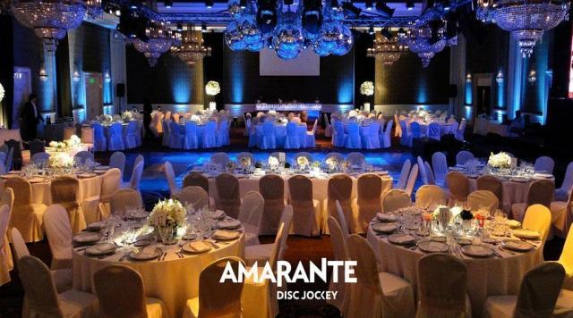 Amarante Disc-Jockey | Casamientos Online