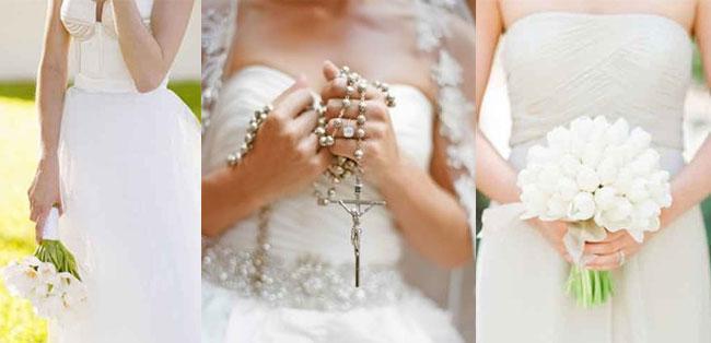 Vestidos de novia sencillos rosario