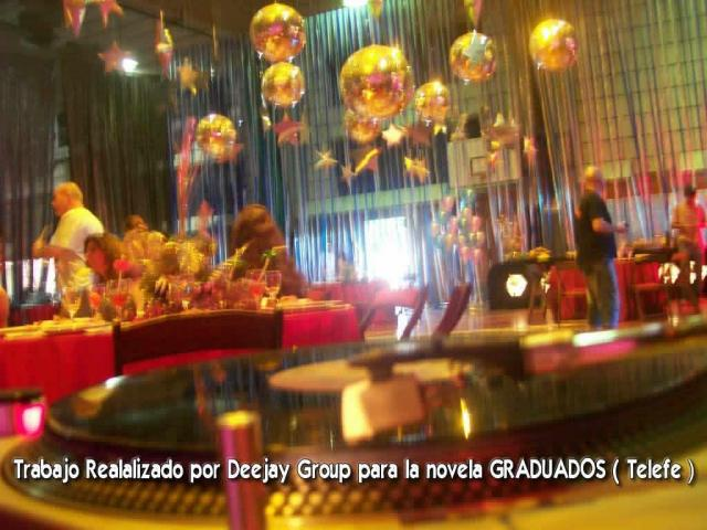 Trabajos Realizados por Deejay Group para la novela GRADUADOS ( Telefe ) | Casamientos Online