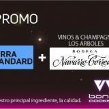 Promo Barra Standard + vinos & champagne Los Arboles, Navarro Correas