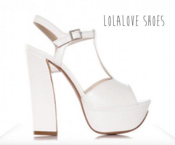Zapatos con tacos modernos