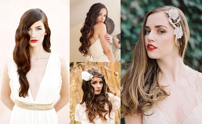 5 Peinados De Novia Para Pelos Largos Casamientos Online
