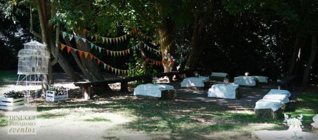 Ambientación de campo - Dinucci Paisajismo   Casamientos Online