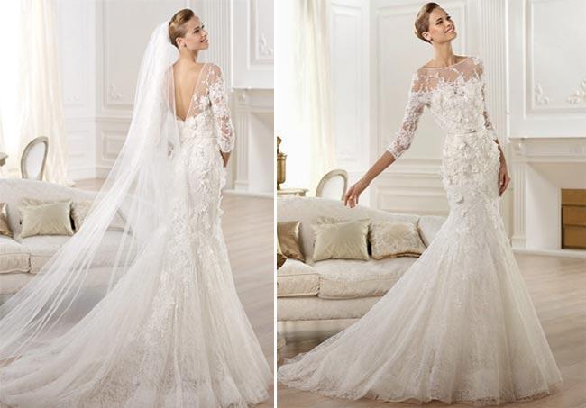 vestidos de novia para casamientos en invierno por elie saab