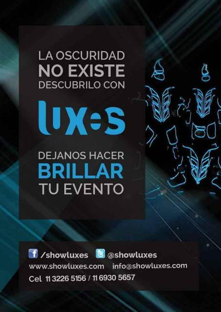 Luxes, Shows Lumínicos | Casamientos Online