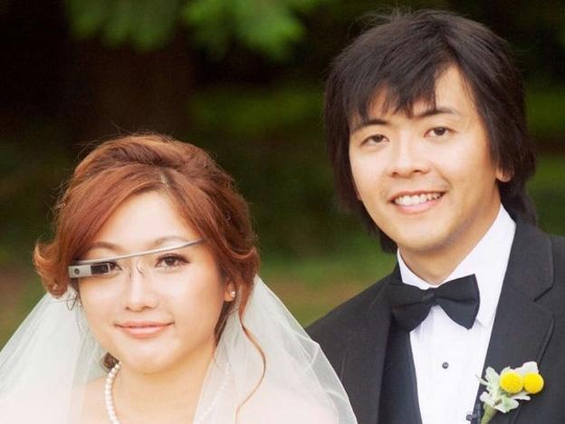 novia graba toda la ceremonia de su boda con Google Glass