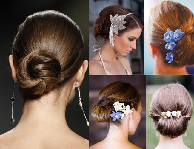 Recogidos para novias cabello corto