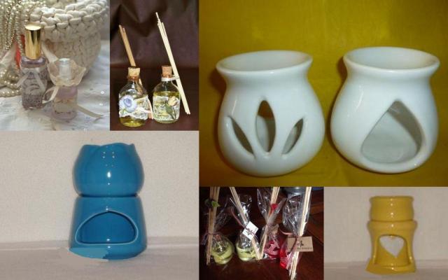 Difusores, aromatizadores, perfumes, hornitos