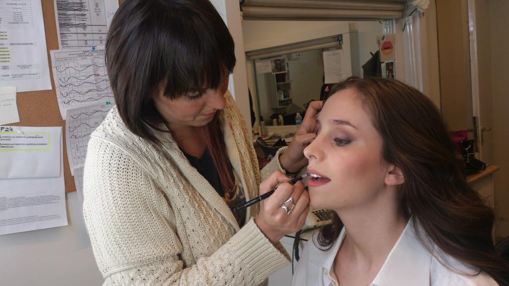 Maquillaje Lucila Viggiano para Aliados