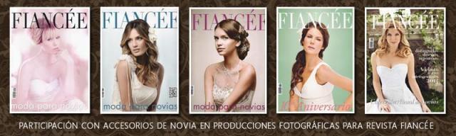 Participación en producciones de Revista Fiancée | Casamientos Online