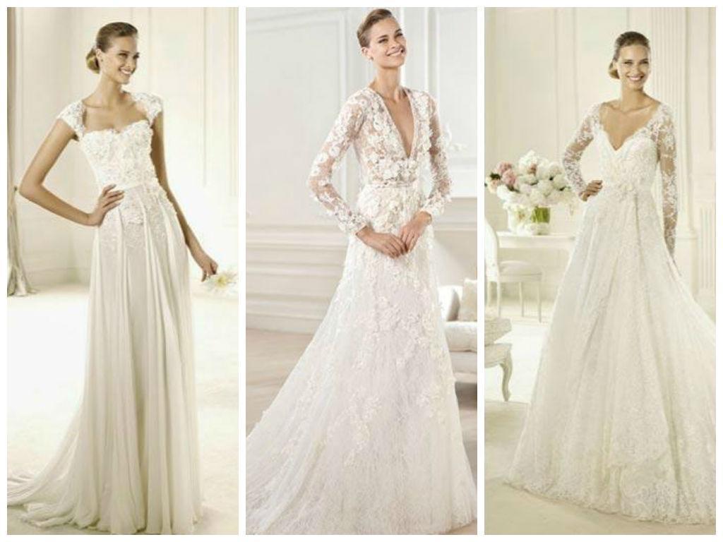 Tipos de bordados para vestidos de novia