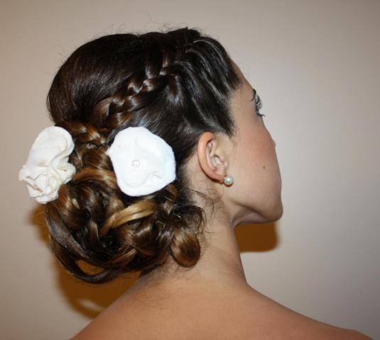 Peinado Recogido Novia Ceremonia | Casamientos Online