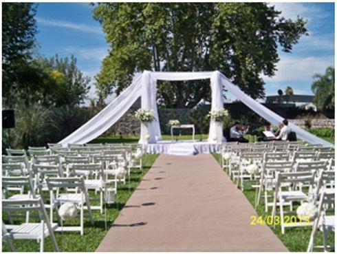 Sillas plegables, sillas tiffanys interiores y exteriores, ambientación eventos | Casamientos Online