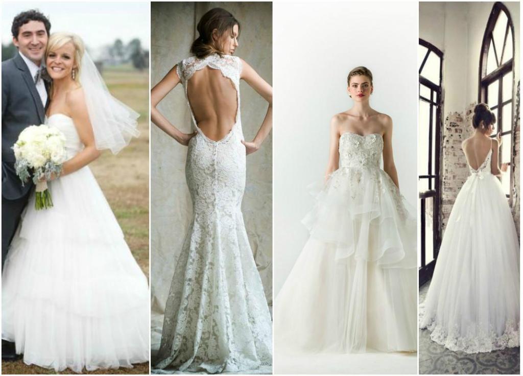 Muchos vestidos de novia