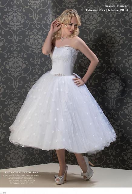 Fiancee Nº23 Julieta largo Chanel | Casamientos Online