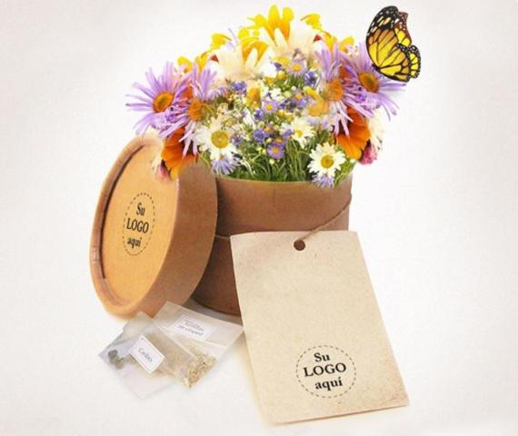 Kit Germinador deFlores - The Growing Gift | Casamientos Online
