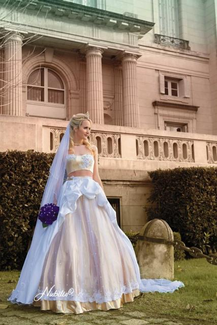 Nubilis Nº50 Julieta crop top | Casamientos Online