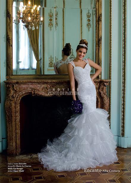 Punto de Partida Nº11 Micaela Paz vestido Sirena | Casamientos Online