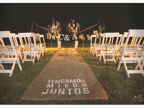 HNAS. Martín Martin - Ambientación para casamiento - Ceremonia  | Casamientos Online
