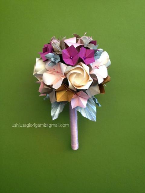 Ramo de novia con hortensias | Casamientos Online