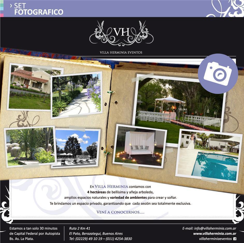 Set Fotografico Villa Herminia Eventos