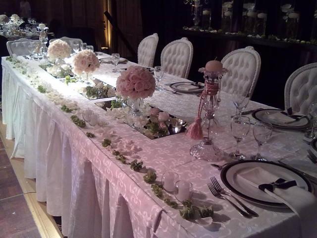 mesa romantica principal  | Casamientos Online