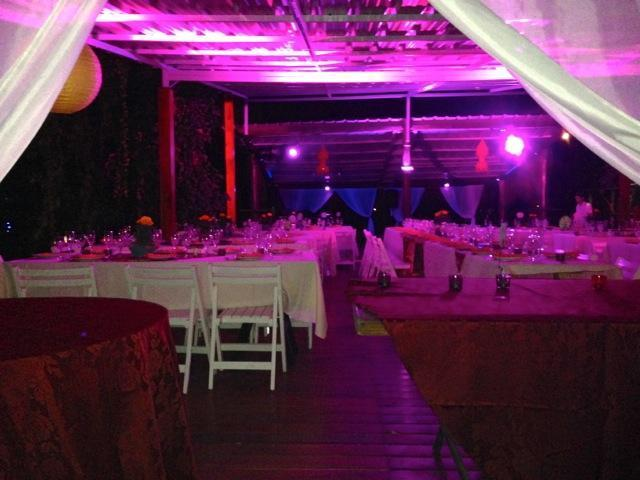 Shambala Pilar - Mesas, Casamiento de Noche | Casamientos Online