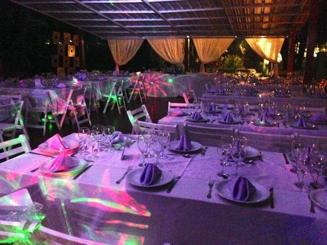 Shambala Pilar  - Mesas, Noche, Casamiento, Fiesta | Casamientos Online