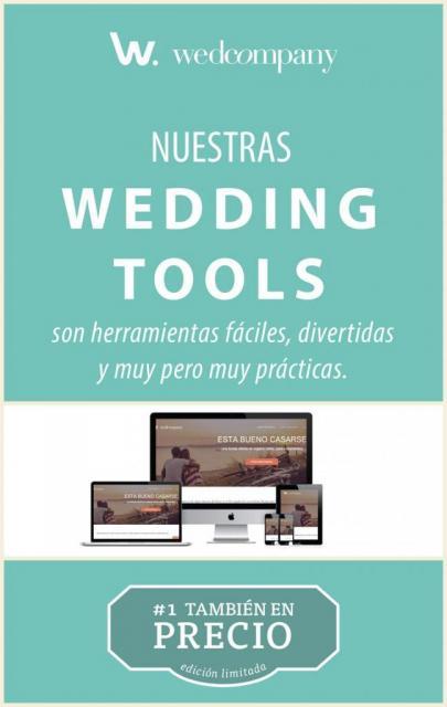 Usá nuestras Wedding Tools