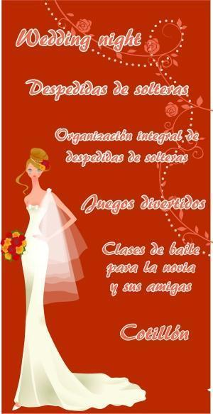 wedding night, despedida de solteras | Casamientos Online