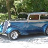 Ford 1934 con aire acondicionado