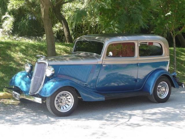 Ford 1934 con aire acondicionado | Casamientos Online