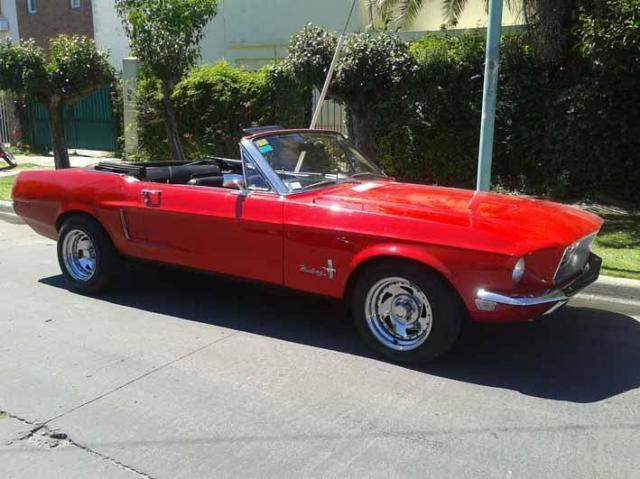 Mustang 1968 convertible | Casamientos Online