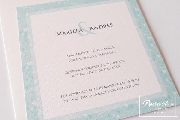 Papel de Arroz (Participaciones)   Casamientos Online