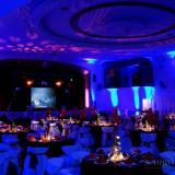 Iluminación cenital para centros de mesa
