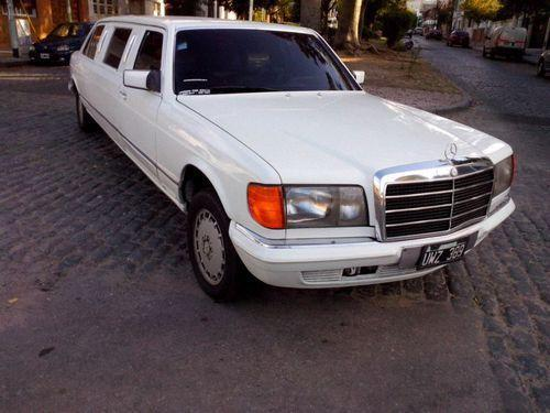 Limusina Mercedes Benz ( con techo corredizo)